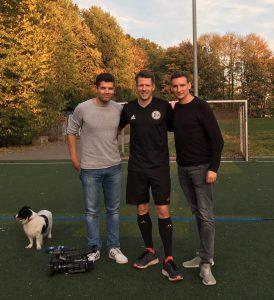 Mats Nickelsen, Patrick Ittrich und Alexander Kobs.